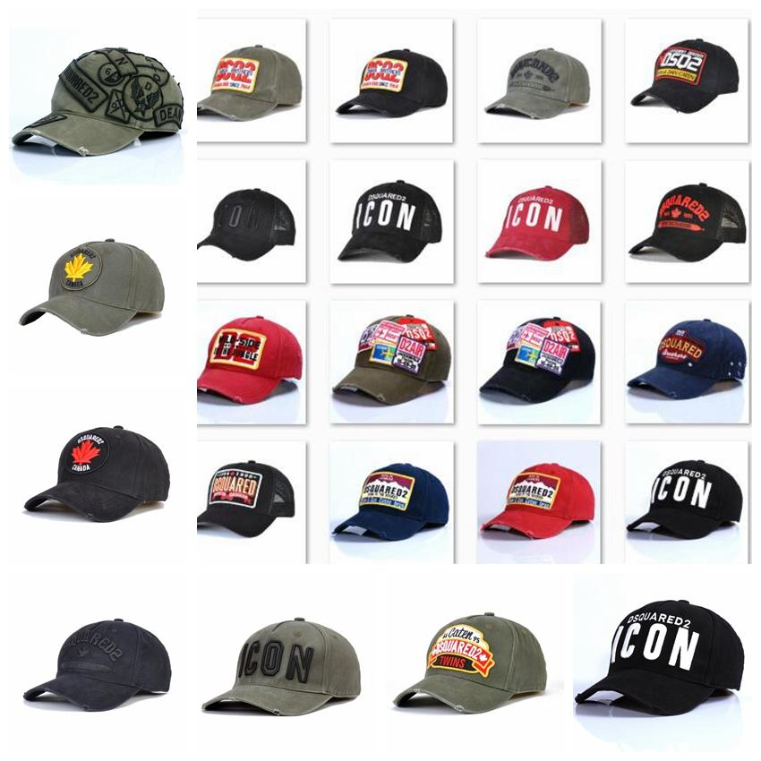 new style d2 Hip Hop Baseball cap Snapback Classic Outdoor Canada Flag Style Hat icon Men Women Caps Casquette hats Letter Embroidery wza5dd
