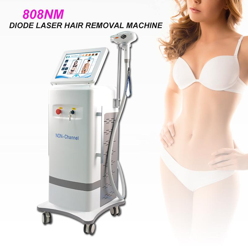 Permanent Hair Removal Diode Laser Hair Removal System With Non