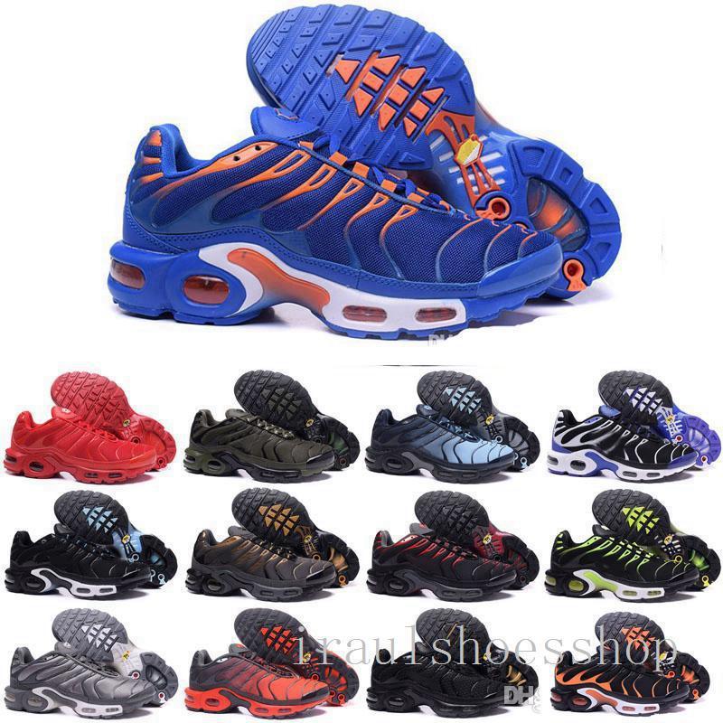 2021 TN Plus-Turnschuh-laufende Schuhe Triple Black Weiß Volt Violet Sliver Gradient Männer Frauen ALUMINIUM Sunset Trainer