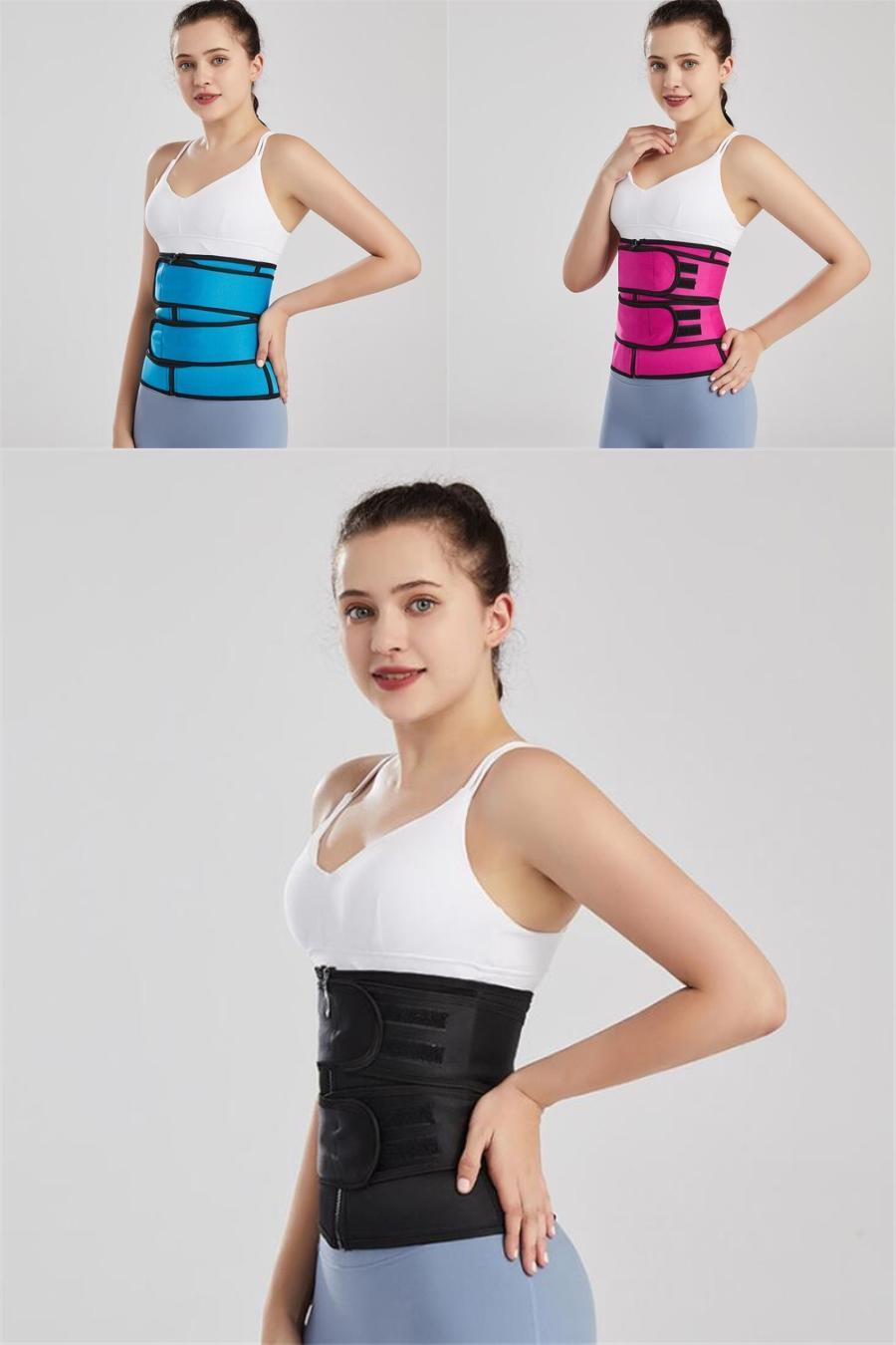 Gotoly más el tamaño de la cintura 6XL Trainer correa de las mujeres que adelgaza la talladora del cuerpo de la ropa interior de la panza de control de Cintura del corsé de la aptitud Fajas # 425