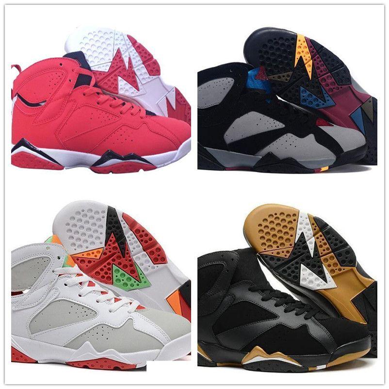 Nike Air Max Retro Jordan Shoes7X Patta OG SP lcicle Top-Qualität Jumpman Patta X Ray Allen Olympic 7s Schuhe für Männer Geschichte der Flug Hare mens