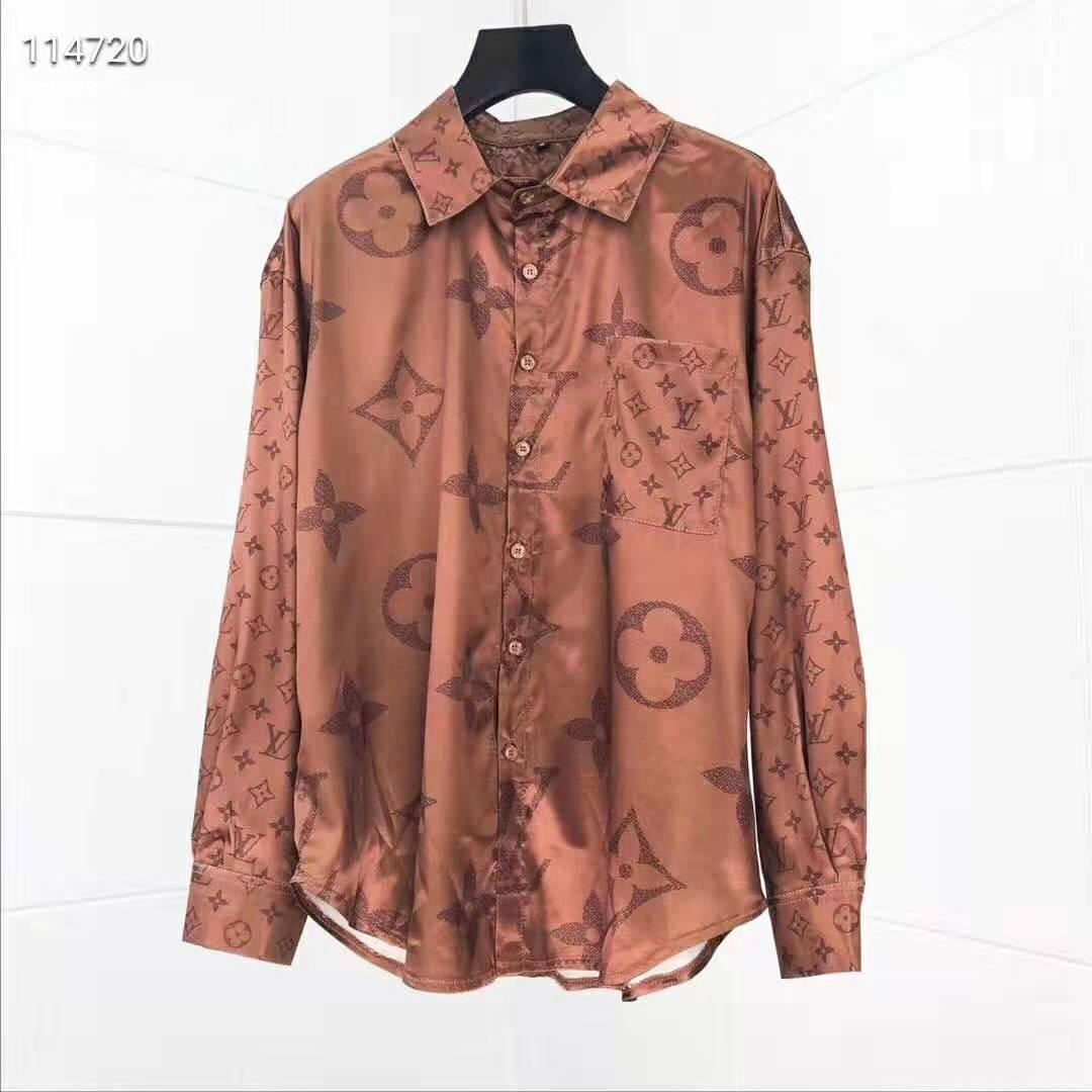 2020 новый мужской Конструктор рубашек Summer Luxury тенниска Brand Мужская одежда Medusa Рубашки Unisex Tops Горячая версия Long Sleev Рубашки