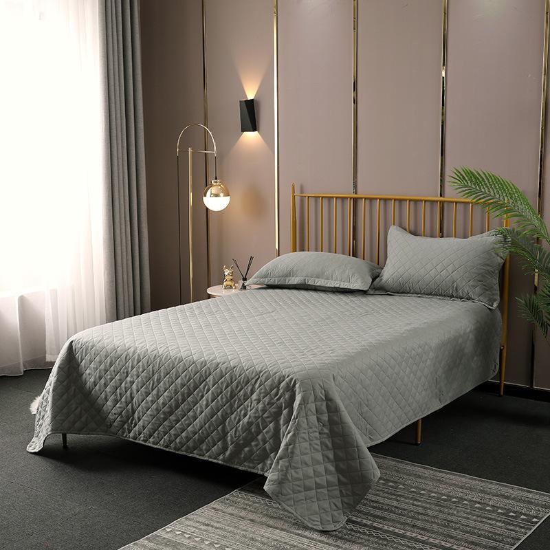 Весной и летом подстилка ультразвуковой рельефная крышка одеяло три части кондиционер моды решетки одеяло LB70819