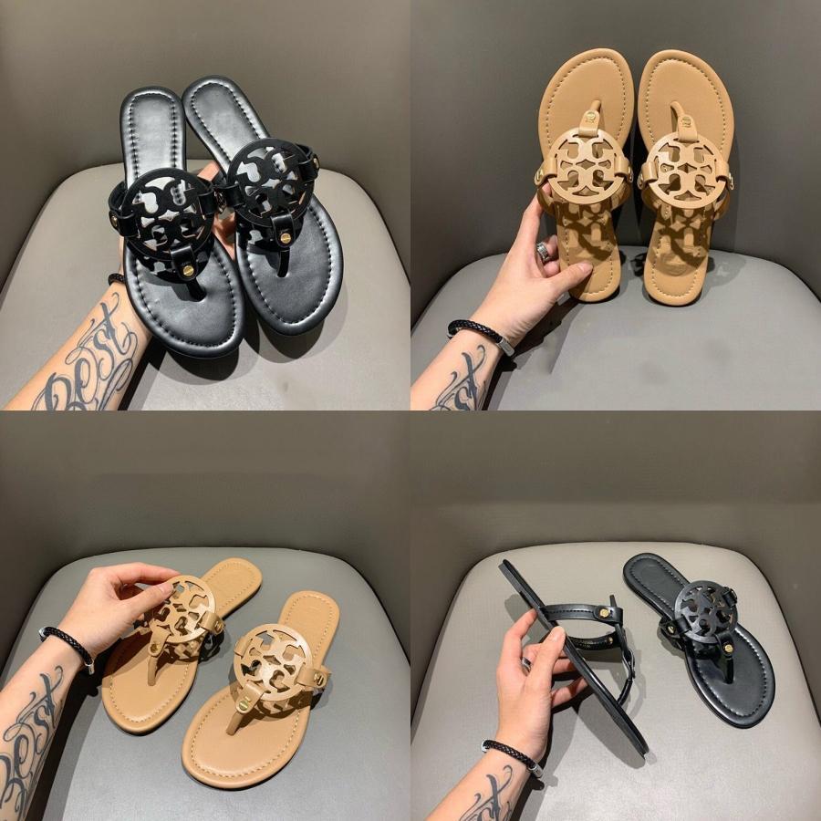 2020 Nueva mujeres del verano forman sólidos al aire libre Zapatillas Casual cómodo suave con el grano Cadena Tamaño 36-40 XWT1636 # 564