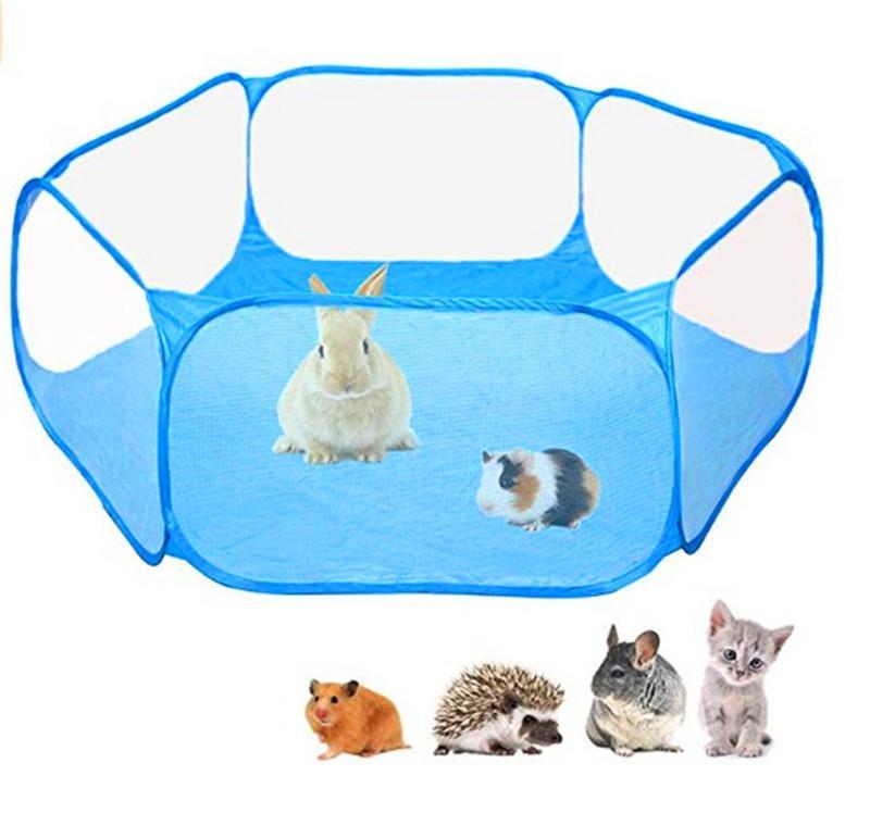 Childrens Pet completamente impermeabile recinto Small Animal Crawling T-Shaped gioco Tenda Ocean Ball Pool