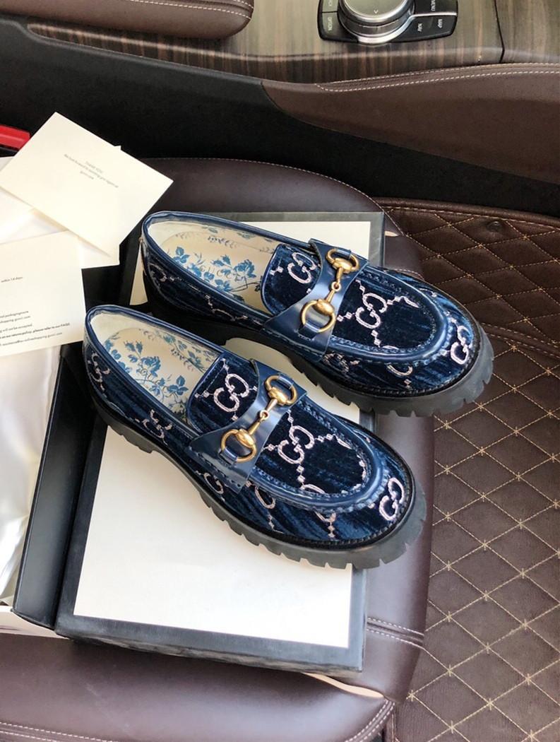 gucci Bambi Black Women Casual Shoes G0408132009