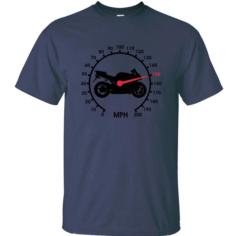 tshirt impressão New Style Motos Engrenagens velocímetro da bicicleta para os homens mens cor fria sólidos tshirts XXXL 4XL 5XL divertidas manga curta