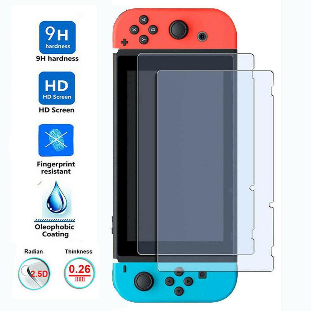 Nintendo Anahtarı Lite temperli cam Ekran Koruyucu Kapak Koruyucu Film Kılıf için 2.5D 9H Konsol consola NS Aksesuarlar Kapaklar