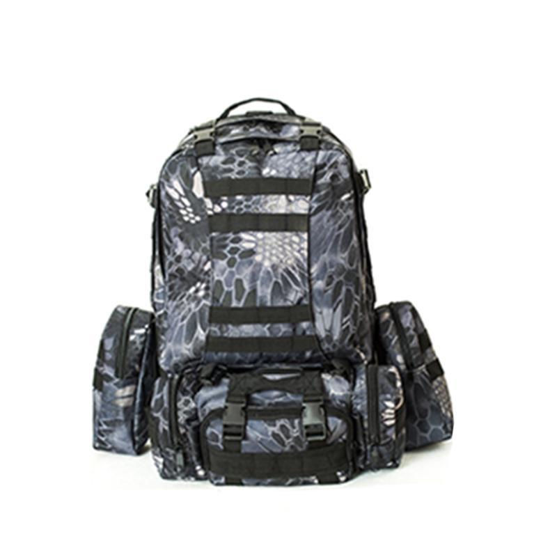 Сумки на открытом воздухе Комбинированная сумка Кемпинг Пешие прогулки Большая емкость Рюкзак Альпинизм