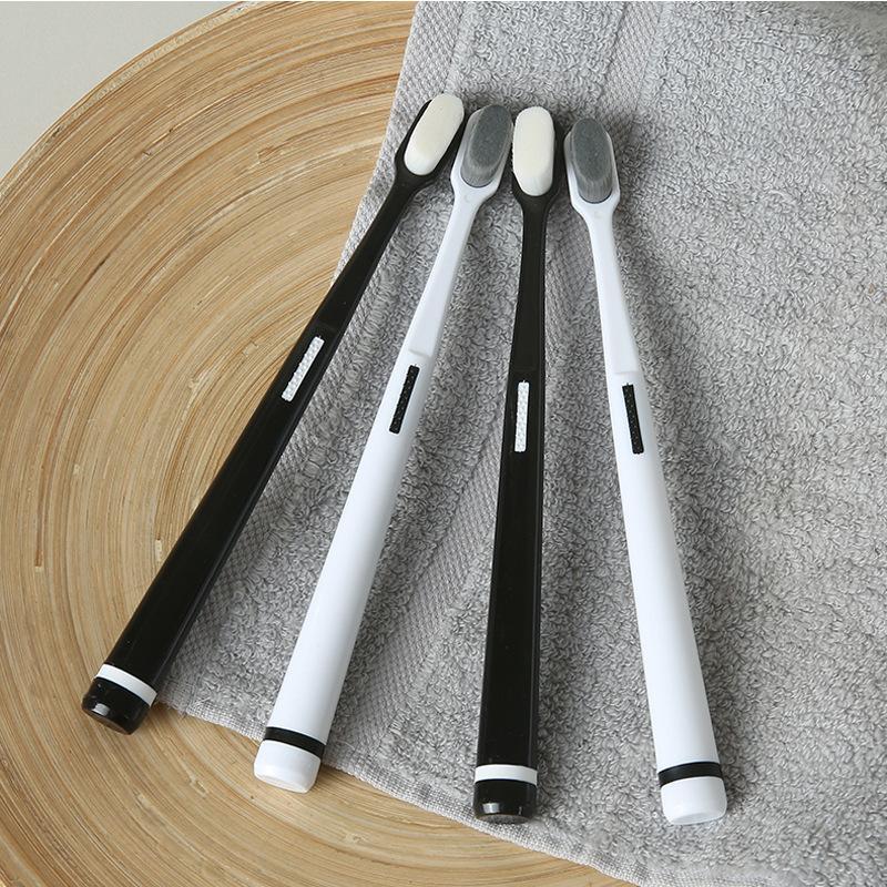 رقيق فرشاة الأسنان لينة فرشاة الأسنان فرشاة التعامل مع غير زلة اللسان الأسنان الحساسة تنظيف طلاء عن طريق الفم أدوات التنظيف 3 5yxa D2