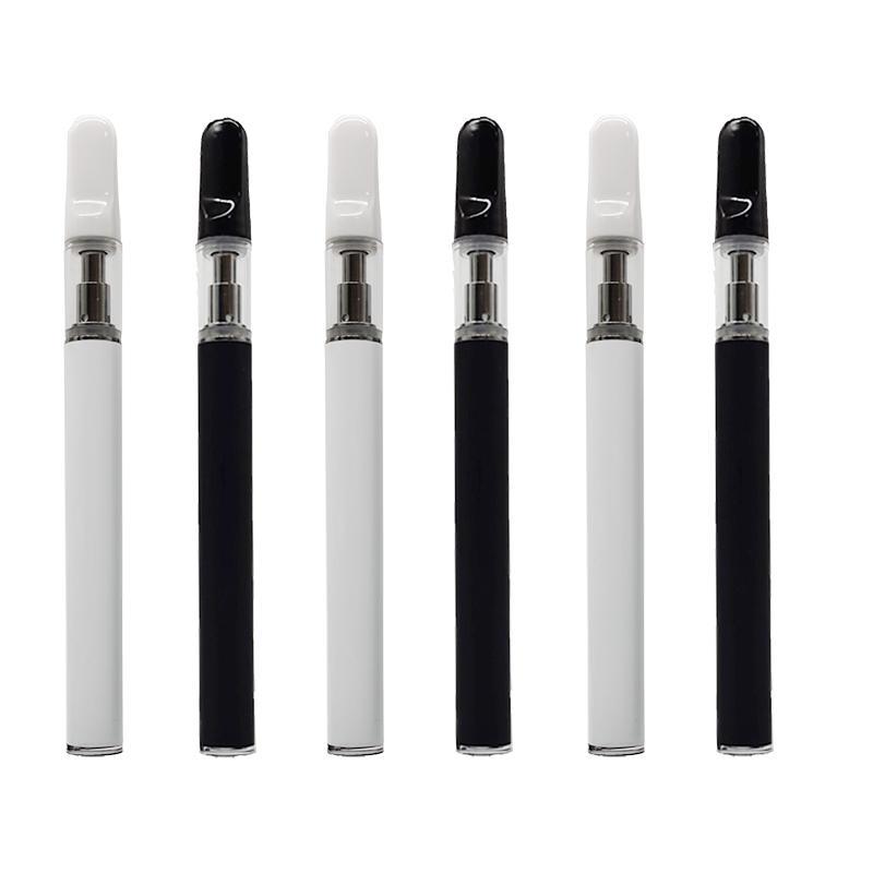 2020 récent 0,5ml à usage unique Vape Stylos e Cigararette appareil Pod Kit atomiseurs 350mAh Batterie 0.5ml Vider Vape Panier Custom Made Emballage