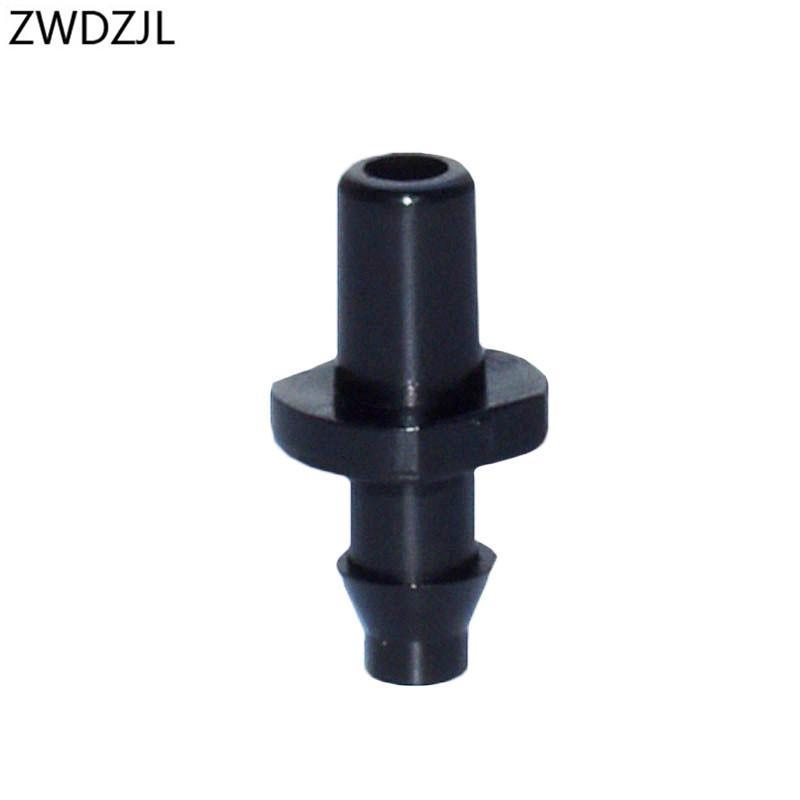 """Garden hose nozzle connector 1/4"""" Garden irrigation Barbed 1/4 connector 6mm 4/7mm hose Irrigation System Adapter 600pcs"""