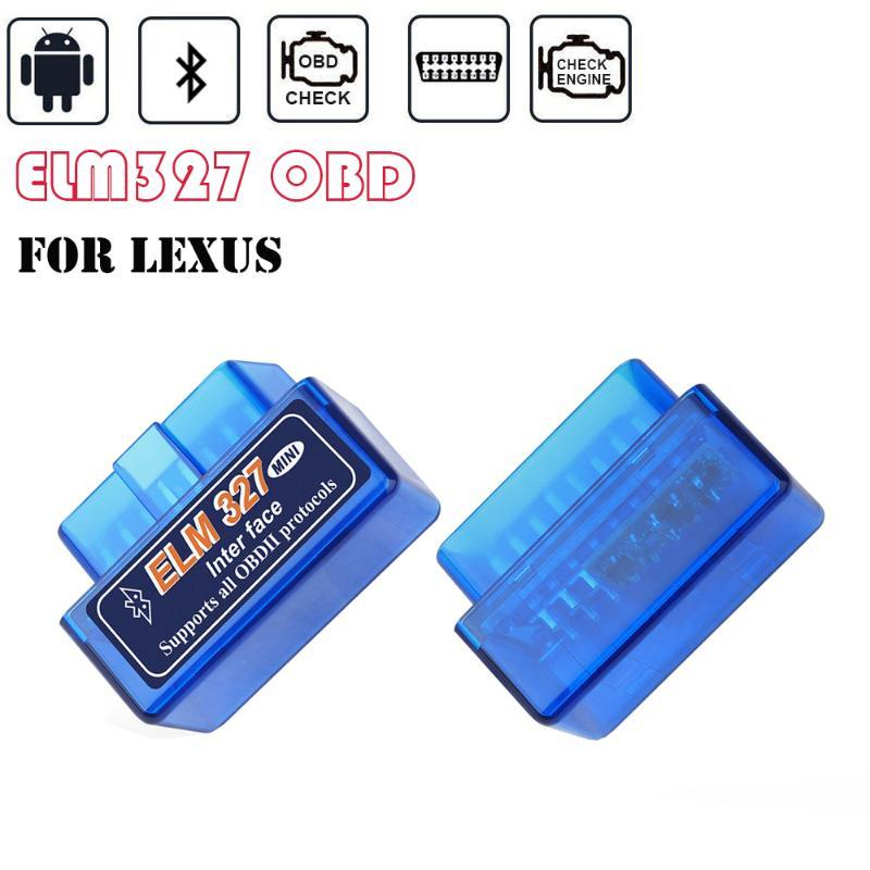 For RX ES GX LS LX IS IS250 IS200 RX300 RX330 RX350 Torque Android Bluetooth OBD2 Diagnostic Tools ELM327 OBD2 Scanner