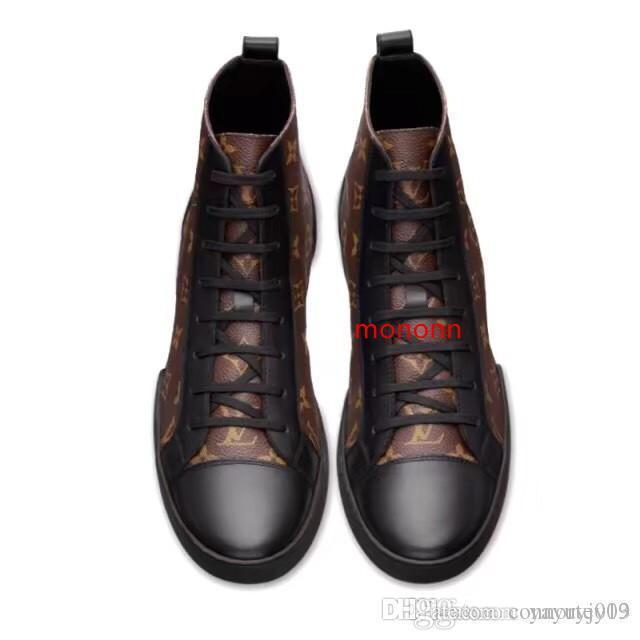 Newst Fashion Design Calzature formatori riflettente piattaforma bianca in pelle scarpe da tennis mens piano casuale scarpe da festa di matrimonio Suede Sport Sneak