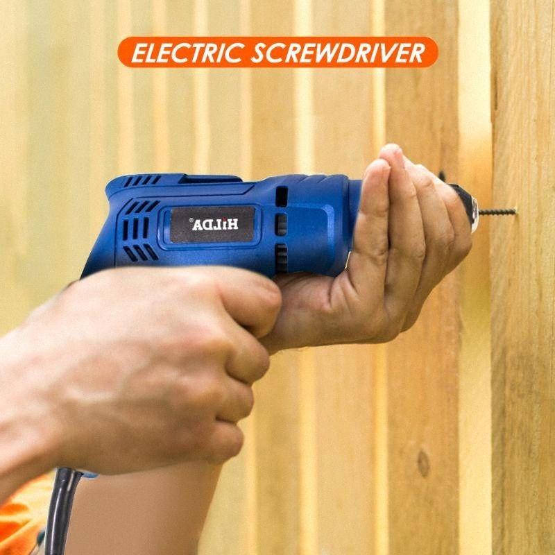 Taladro inalámbrico multifuncional destornillador eléctrico Mini Poder Taladro de mano oFeF #