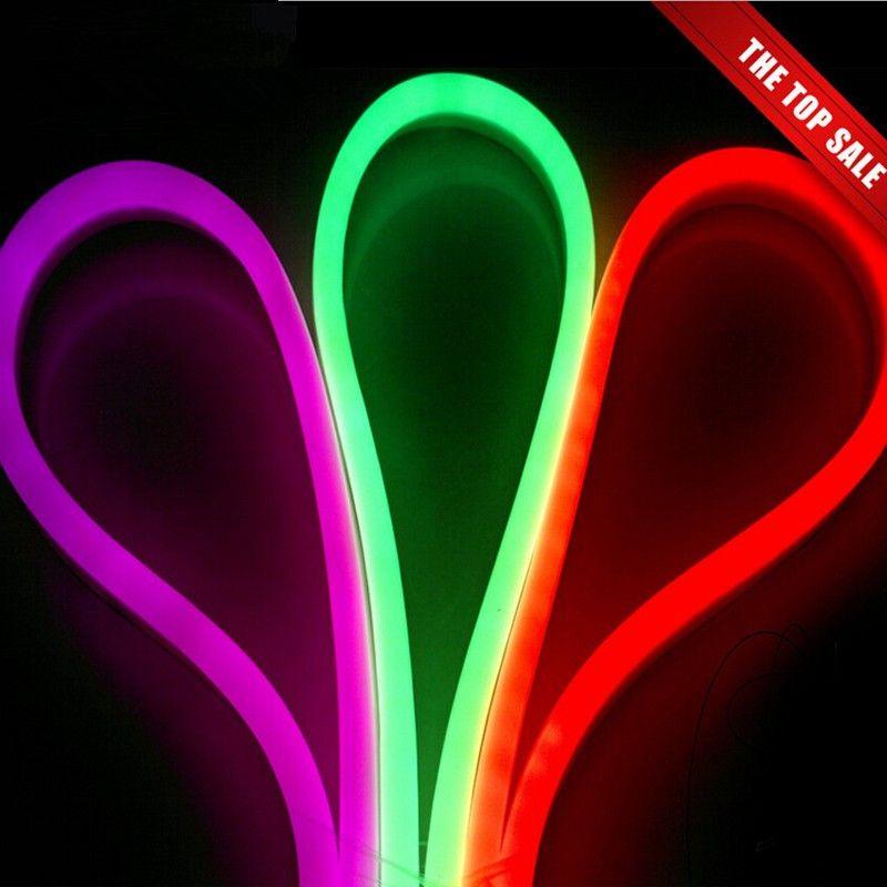 새로운 도착 LED 네온 사인 LED 플렉스 로프 빛 PVC LED는 실내 / 실외 플렉스 튜브 디스코 바, 펍 크리스마스 파티 장식 스트립