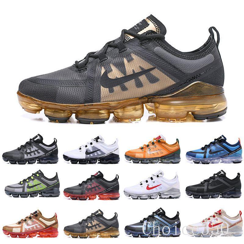 Run FAYDALI erkekler Tn Artı üçlü siyah beyaz REFLEKTİF Orta Zeytin Burgonya Crush erkek eğitici spor ayakkabısı RTK62 koşu ayakkabıları