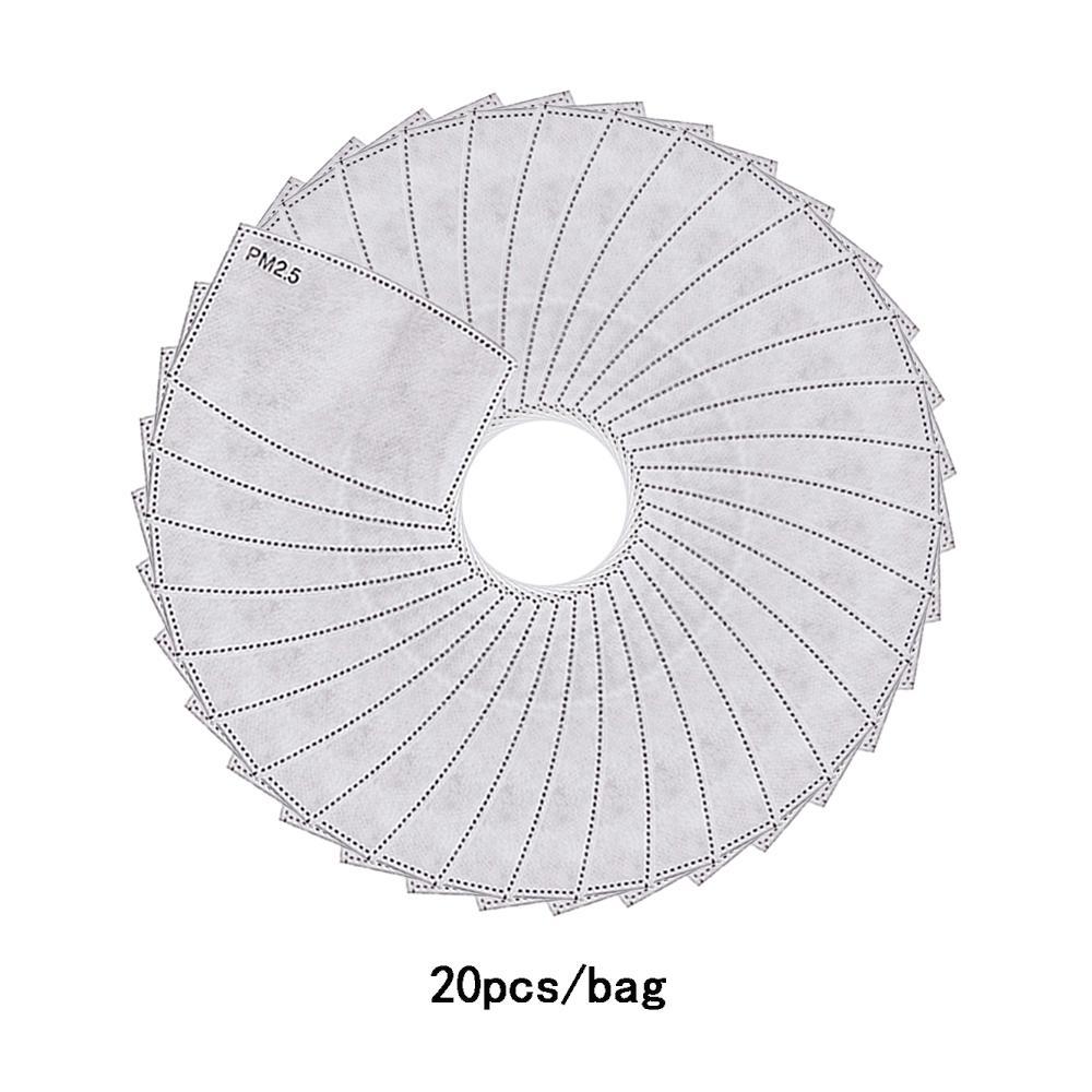 2.5 Pus Yüz için Nefes PM Kağıt Aktif Maske Karbon Filtre Anti Toz Ağız Kapak Açık Çalışma Maskeler Unisex