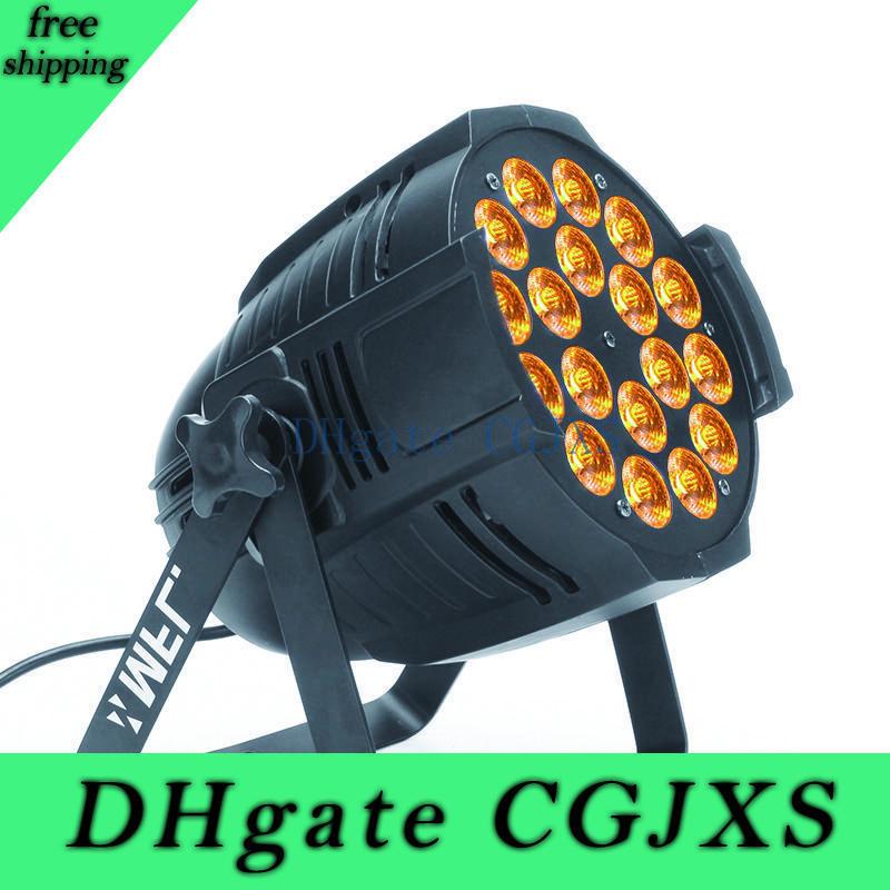 Guangzhou professionale Disco Dj Dmx 18pcs10w 5in1 luce par Per Attrezzatura per illuminazione Effetto