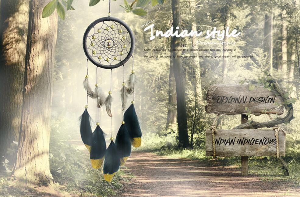 Indian nationalen Stil Farbe Handwerk Anhänger kreative Traum handgemachte Folk-Wind Geschenk Ornamente Jiajun seltsame neue Schmuck