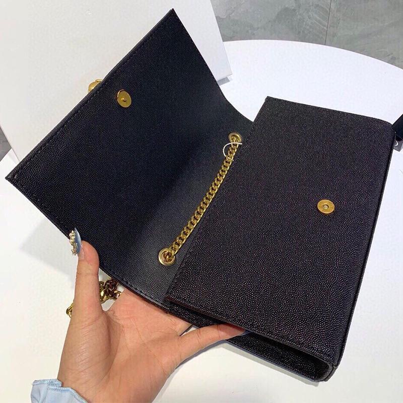 2020 Busta con caviale borse a tracolla Hot catena Classic borse sacco per cadaveri di alta qualità Croce borsa Messenger con scatola