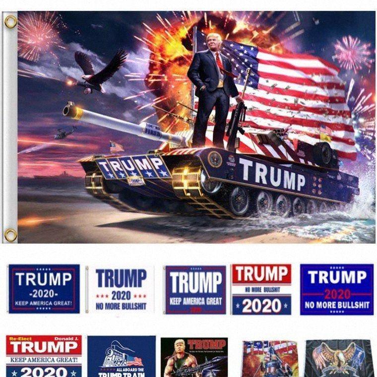 Bandiere Donald Trump presidente Bandiere Trump bandierina del poliestere Donald americani Banner Bandiera Presidente Elezione pensili Bandiere DHC1017 j2xc #