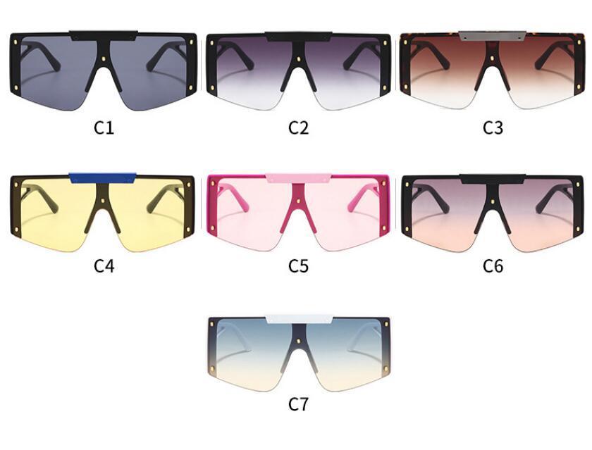 Il nuovo modo un pezzo grande cornice occhiali da sole occhiali da sole VR8152 tutto-fiammifero antivento occhiali per uomo e donna
