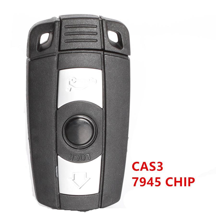 BM-W sistema CAS3 3 botão do controle remoto com 7945 fichas, 315MHz