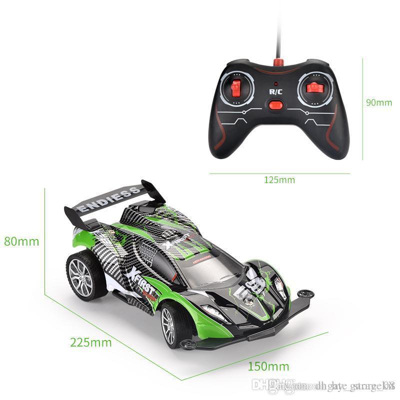 brinquedo das crianças novas controle remoto de alta velocidade carro de corrida de quatro vias carro de controle remoto controle remoto recarregável deriva brinquedos elétricos