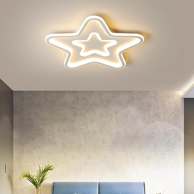 Moderne LED-Deckenleuchter Lichter Einfache Leuchten für Wohnen Schlafzimmer Study Room White Gold Kronleuchter Leuchten Dimmbare