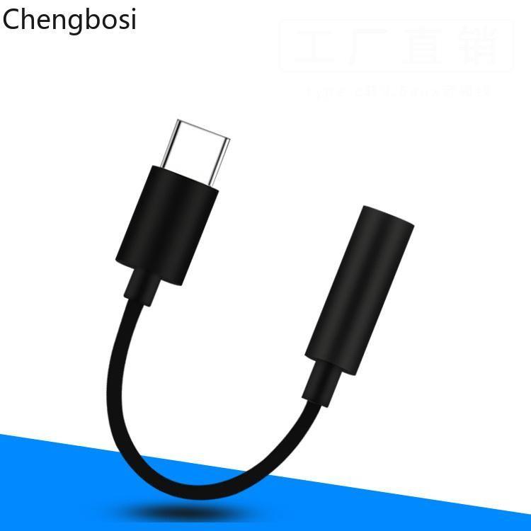 Cgjxs USB tipo C a 3 0,5 milímetros fone de ouvido cabo Jack Aux áudio adaptador para Samsung Lg Nexus OnePlus Nokia Xiaomi Huawei Tipo Phones C inteligentes