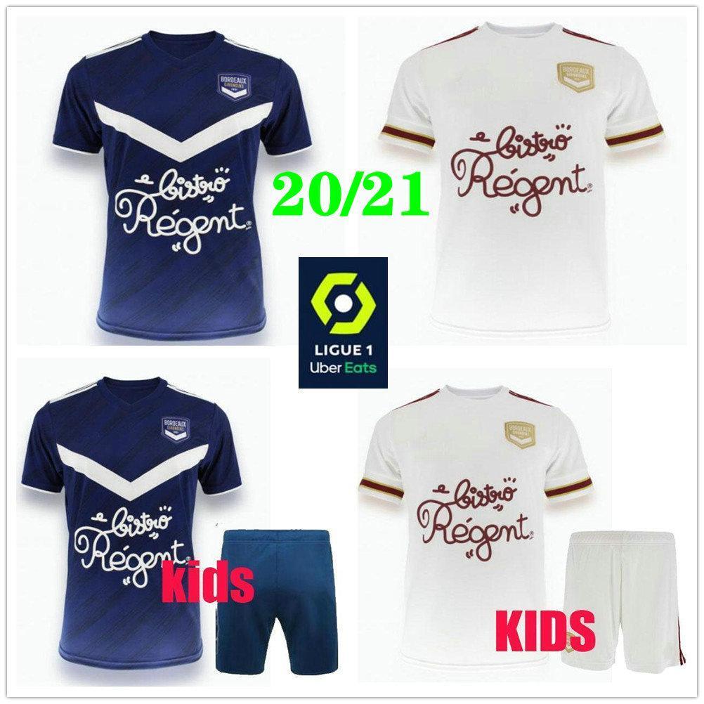2020 قميص 2021 مايوه بوردو لكرة القدم الفانيلة BRIAND S.KALU KAMANO BENITO BASIC مخصص 20 21 الإياب الكبار للأطفال لكرة القدم