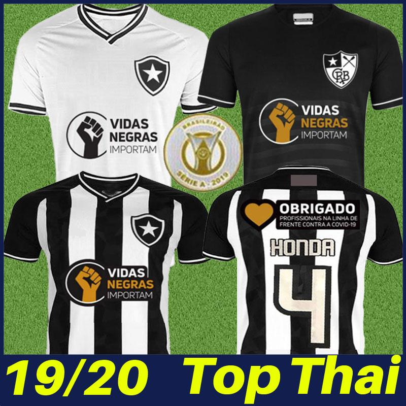 19/20 brasil Botafogo HONDA football jersey LUIZ FERNANDO DIEGO SOUZA soccer jersey A.SANTANA CICERO uniform fans shirt camisa Botafogo 2019