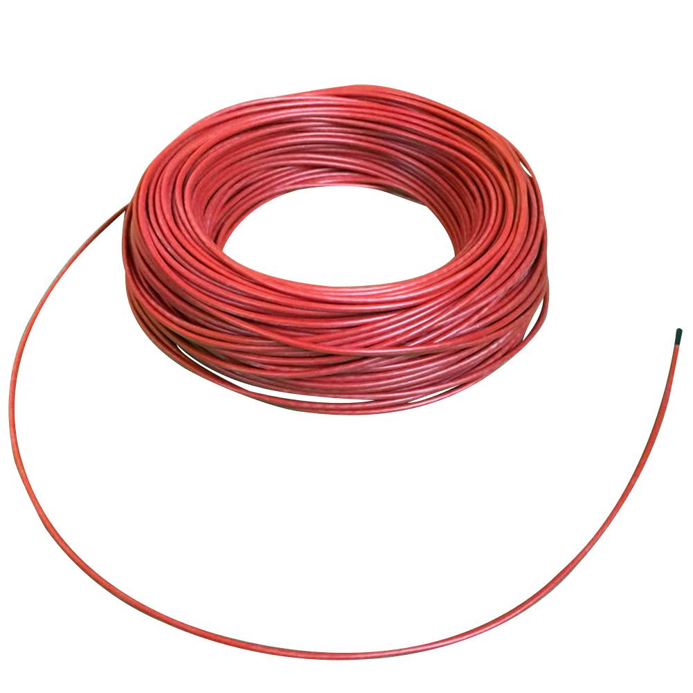 100m Heating Cable Red Multipurpose Floor Warm Farm Carbon Fiber Home Infrared
