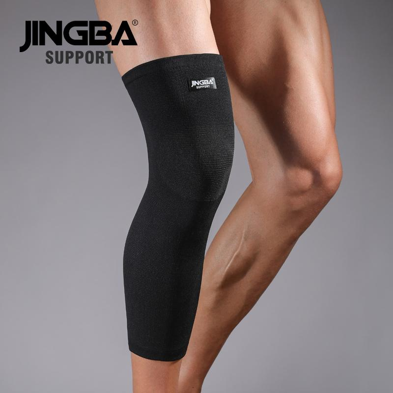 JINGBA SUPPORT 1PCS knee protector+wristband Support+ankle support+wrist boxing hand wraps +Elbow support +basketball knee pad