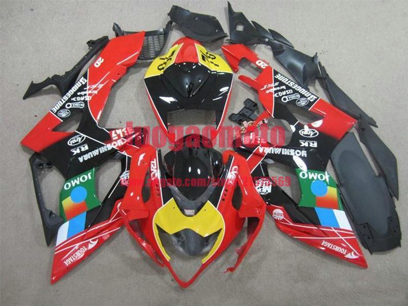 SUZUKI GSXR1000 K5 SUZUKI GSXR 1000 05-06 GSXR1000 2005-2006 için FIT SUZUKI GSXR1000 K5 SUZUKI GSXR 10002006 Abs Bodywork