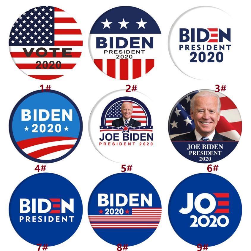 Joe Biden Spilla 2020 US Presidential Election Biden Badge latta Elezione Distintivo di favore di partito DHC725