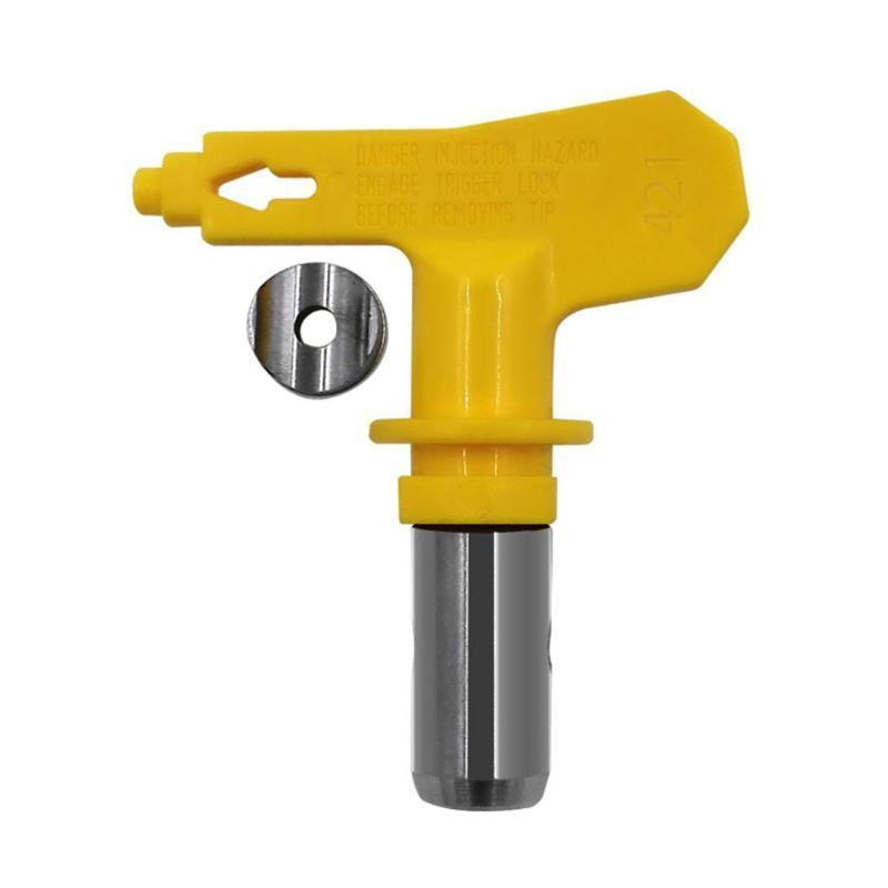 Universal-Airless Sprayer Zubehör Düse Airless-Hochdruckfarbspritzpistole Tip-Gewehr-Düse in verschiedenen Arten # 25