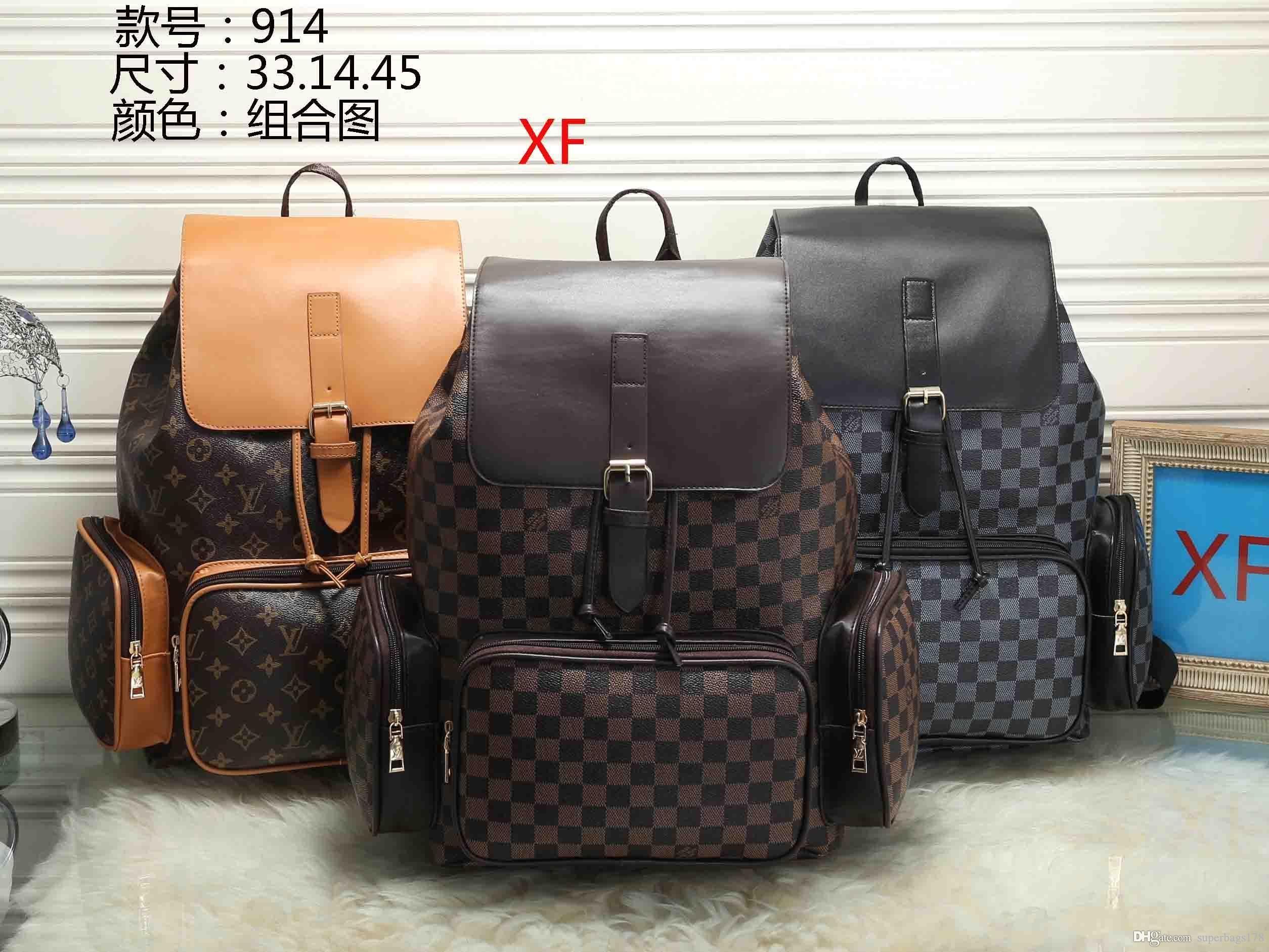 RRR XF 914 Meilleur prix de haute qualité femmes dames sac fourre-tout simple portefeuille de bourse de sac à dos d'épaule