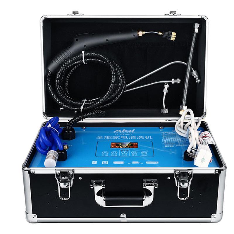 Hochtemperaturdampfreiniger Home Multifunktionsmaschine Hochdruckhaube Klimaanlage Reinigungswerkzeug Full Set