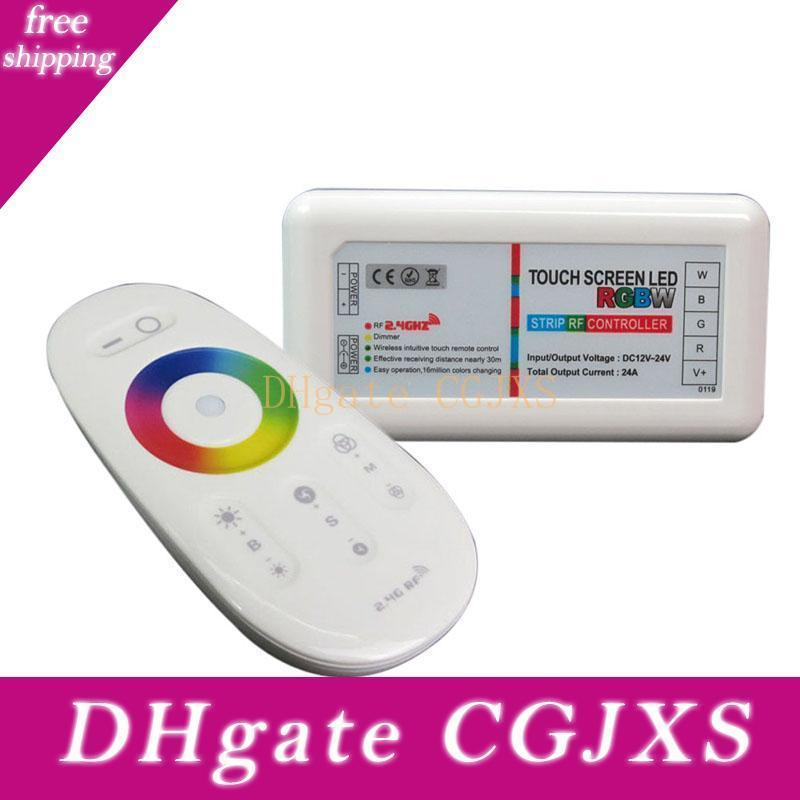 CC 12V -24V 2 .4G Remote strisce di controllo per Rgbw / Rgbww Led di tocco dello schermo a LED RGBW CONTROLLER + Rf