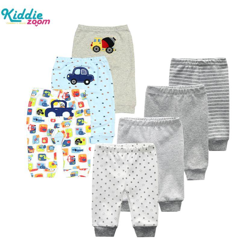 3 / 4pcs / lot 2020 calças do bebê Casual Calças Inverno recém-nascidos legging Kid roupas infantis desgaste mediana Waisted Calças para meninas Meninos MX200811