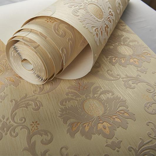 oda yatak odası için 3 boyutlu gümüş arka plan duvar kağıdı rulosu ev dekorasyonu sürü duvar kağıdı duvar kağıdı Toptan Orijinal Victoria parıltı