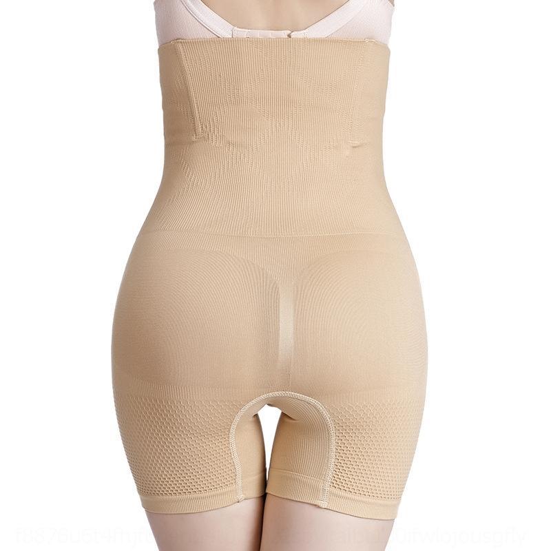 yIJJ5 ZMypi cintura alta boxer hip-lifting sem emenda barriga boxer alongado tamanho segurança calças corpo favo de mel corpo cueca moldar cueca la