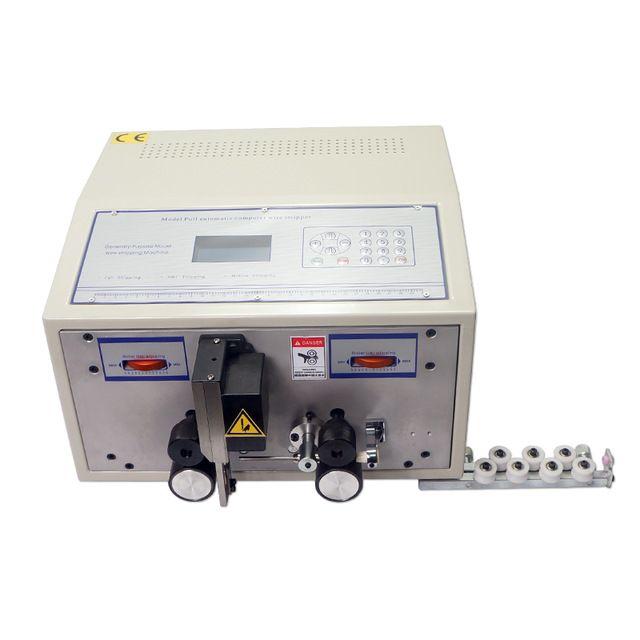 SWT 508C Bilgisayar otomatik tel kablo sıkma kesme makinesi SWT508C soyma ve 0.1 ila 2.5mm2 soyma