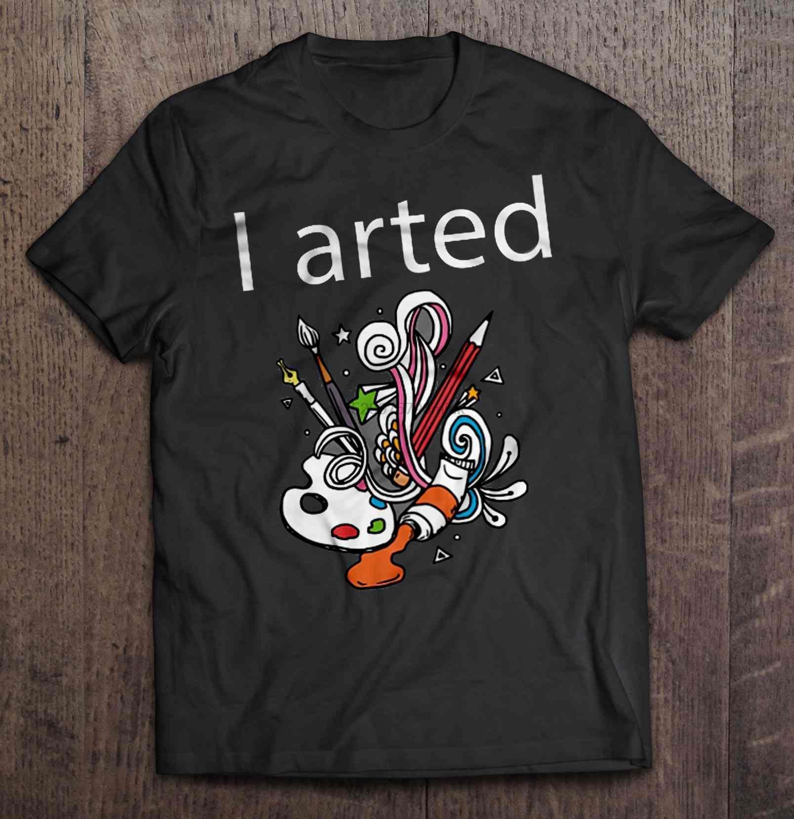 uomini della maglietta I Arted divertente Art -Version2 donne t-shirt