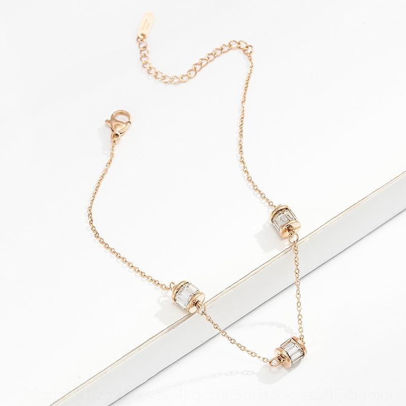 simples de titânio jóias em forma de coração pulseira pulseira de liga de jóias galvanoplastia das mulheres Clioro embutidos aço artificial jmYS9