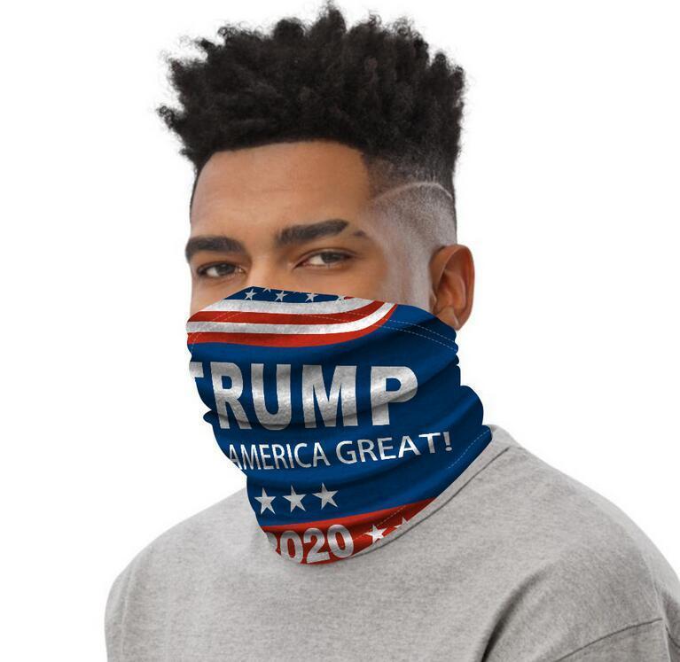 Hot nuovo 2020 Trump maschera di protezione Washcloth elezioni americane Forniture maschere antipolvere stampa Appliances Outdoor Ciclismo Mask DHL