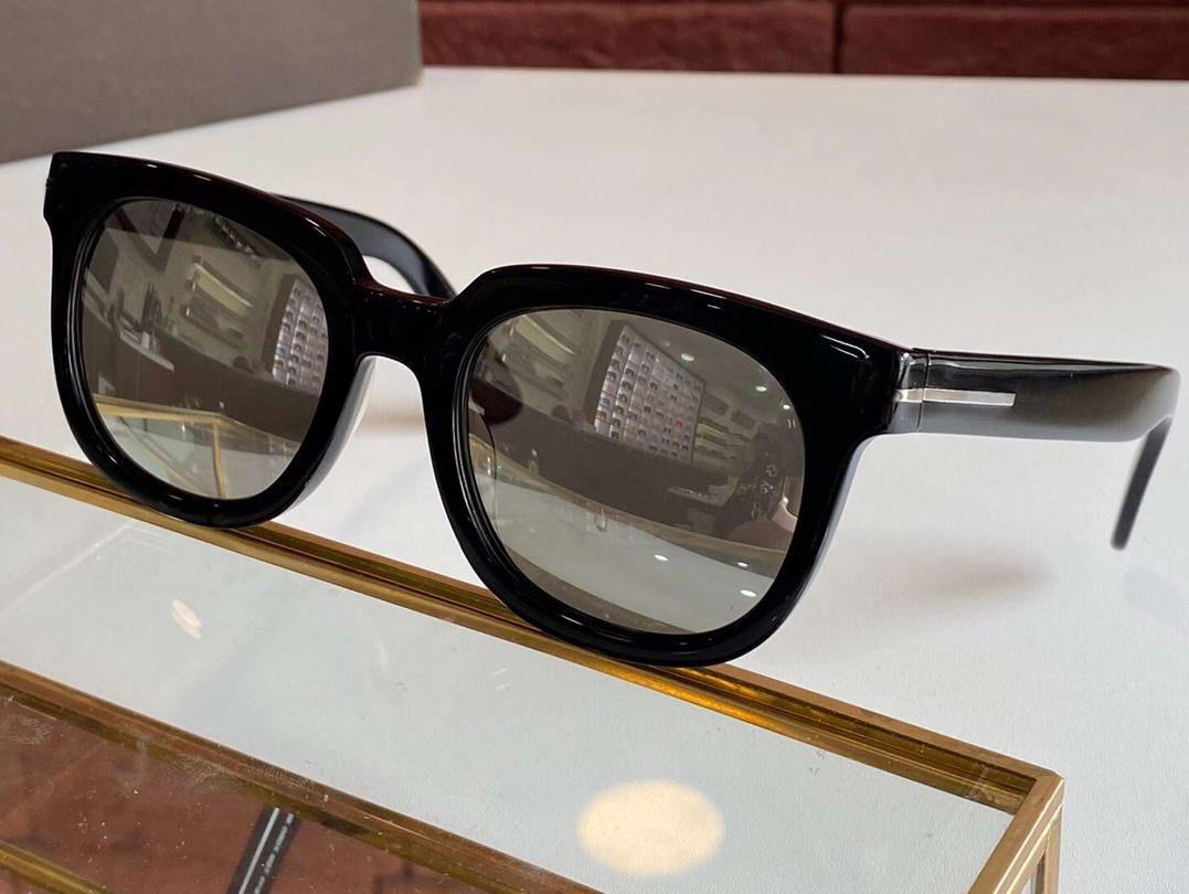 Black UV400 Зеркальные очки Солнцезащитные очки Sun Square Occhiali Da Tom Firsti Unisex Sole Sunglasses Eyewear 211 VFHRM