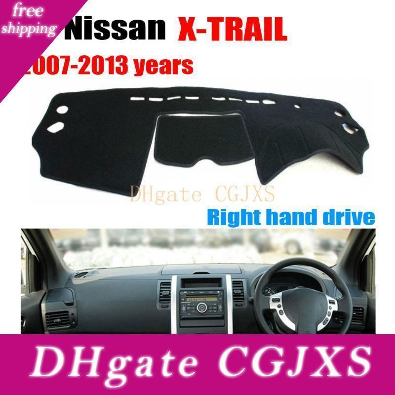 Tableau de bord Car Cover Mat X -trail 2007 -2013 Conduite à droite Dashmat Pad Covers Dash Tableau de bord Auto Accessoires